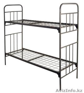 Кровати железные одноярусные для санаториев, кровати металлические по низко цене - Изображение #3, Объявление #1442450