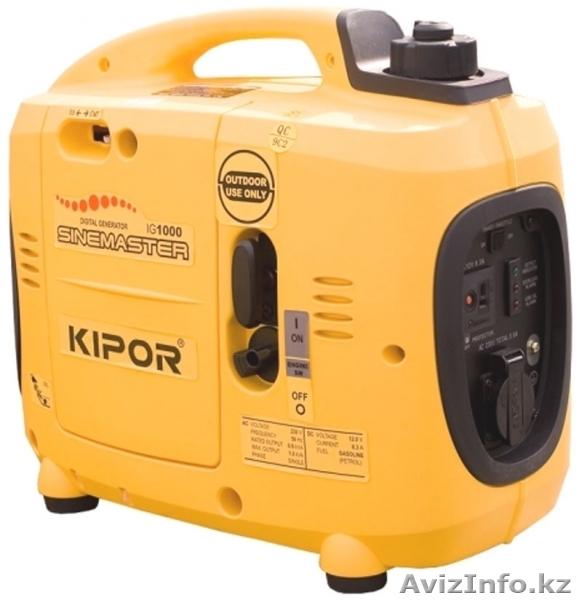 Генераторы  и электростанции KIPOR различной мощности., Объявление #101074